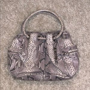 Cole Haan Snake Skin Bag